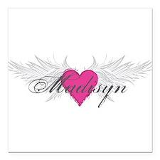 "My Sweet Angel Madisyn Square Car Magnet 3"" x 3"""