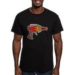 Ray Gun Men's Fitted T-Shirt (dark)