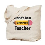 3rd Grade Teacher (Worlds Best) Tote Bag