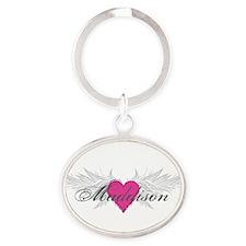 My Sweet Angel Maddison Oval Keychain