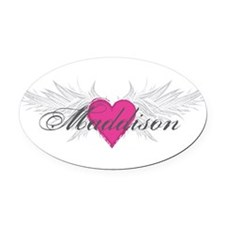 My Sweet Angel Maddison Oval Car Magnet