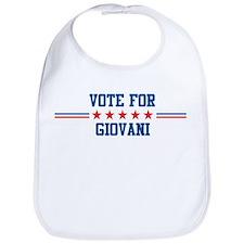 Vote for GIOVANI Bib
