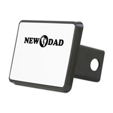 New Dad with Footprints Hitch Cover