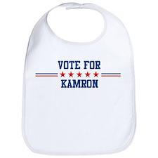 Vote for KAMRON Bib