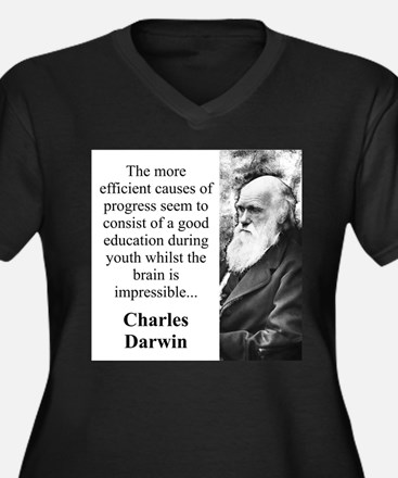 The More Efficient Causes - Charles Darwin Women's