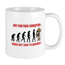 Barbarian Evolution Mug