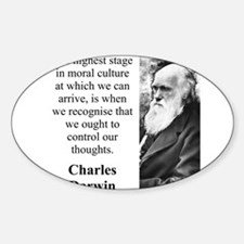 The Highest Stage In Moral Culture - Charles Darwi