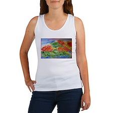 Water lilies! Watercolor art! Women's Tank Top