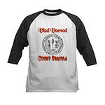 Count Dracula Kids Baseball Jersey