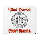 Count Dracula Mousepad