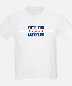 Vote for MAYNARD Kids T-Shirt