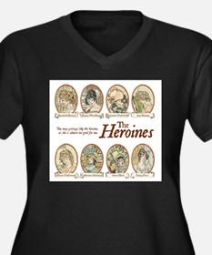 heroines copy.jpg Plus Size T-Shirt