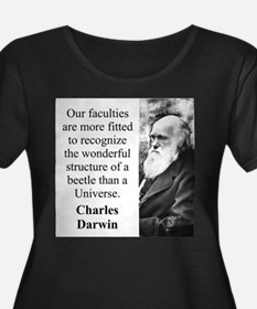Our Faculties Are More Fitted - Charles Darwin Wom