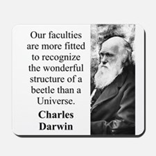 Our Faculties Are More Fitted - Charles Darwin Mou