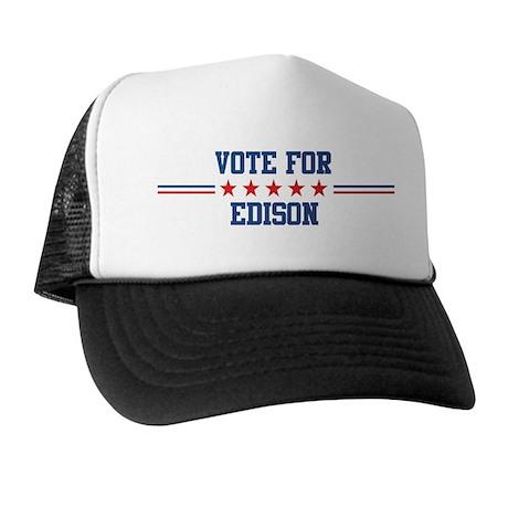 Vote for EDISON Trucker Hat