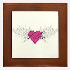 My Sweet Angel Lillie Framed Tile