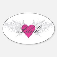 My Sweet Angel Lilith Sticker (Oval)