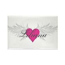 My Sweet Angel Liliana Rectangle Magnet