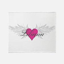 My Sweet Angel Liliana Throw Blanket