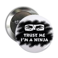 Trust Me I'm a Ninja (male) Button