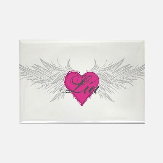 My Sweet Angel Lia Rectangle Magnet