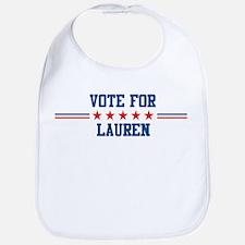 Vote for LAUREN Bib