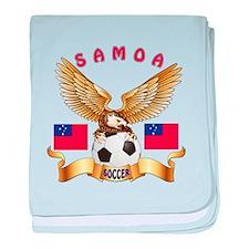 Samoa Football Design baby blanket