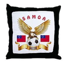 Samoa Football Design Throw Pillow