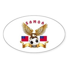 Samoa Football Design Decal