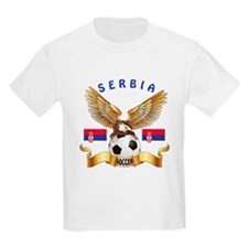 Serbia Football Design T-Shirt