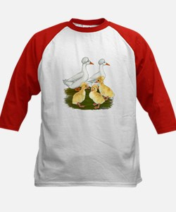 Crested Duck Family Tee