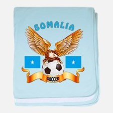 Somalia Football Design baby blanket