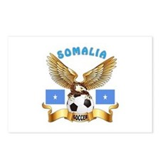 Somalia Football Design Postcards (Package of 8)