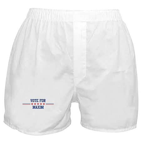 Vote for MAXIM Boxer Shorts