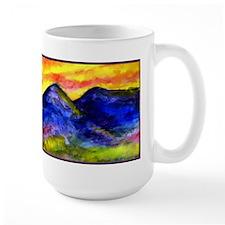 Landscape, colorful art! Mug