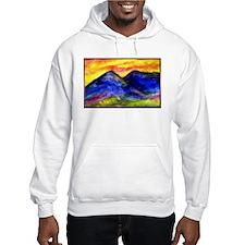 Landscape, colorful art! Hoodie