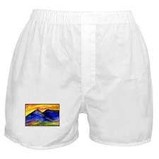 Landscape, colorful art! Boxer Shorts