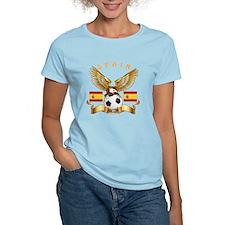 Spain Football Design T-Shirt