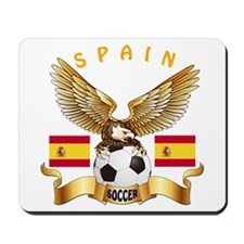 Spain Football Design Mousepad