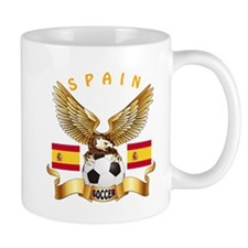 Spain Football Design Small Mug