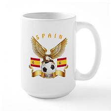 Spain Football Design Mug