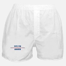 Vote for AMARION Boxer Shorts