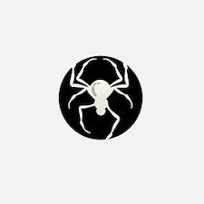 The White Spider Mini Button