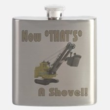 Now That's a Shovel! Flask
