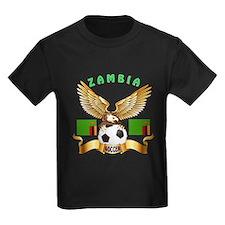 Zambia Football Design T