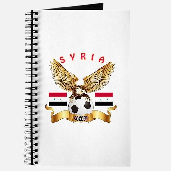 Syria Football Design Journal