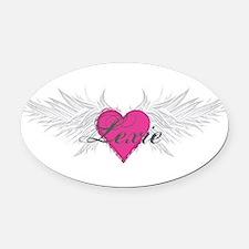 My Sweet Angel Lexie Oval Car Magnet