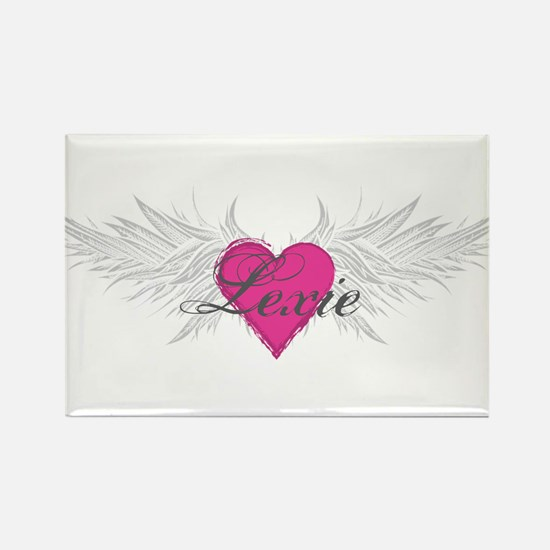 My Sweet Angel Lexie Rectangle Magnet