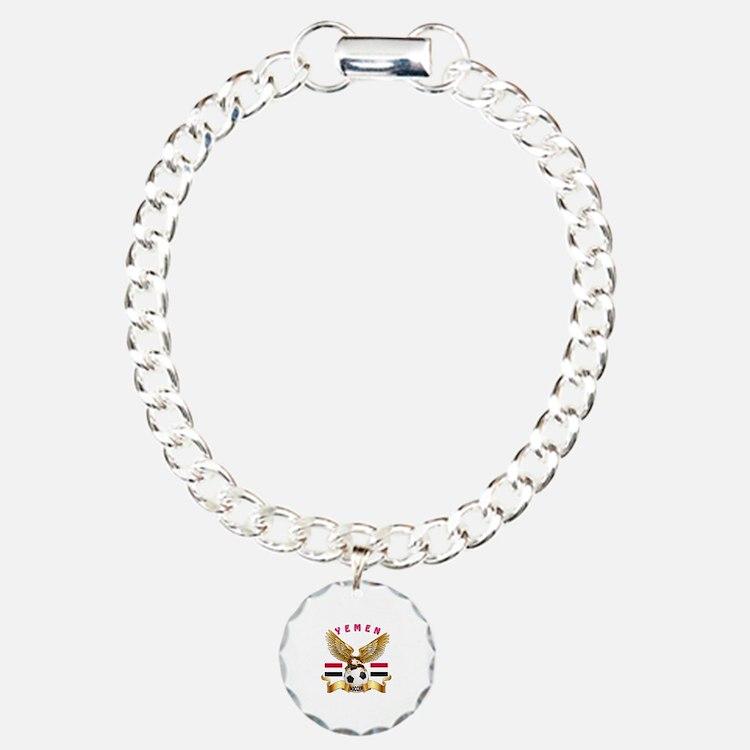 Yemen Football Design Bracelet