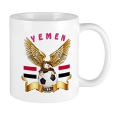 Yemen Football Design Mug